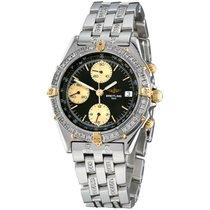 Breitling Chronomat Steel 40mm Black No numerals United States of America, New York, NEW YORK CITY
