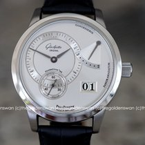 Glashütte Original PanoReserve Steel 39mm Silver United States of America, Massachusetts, Milford