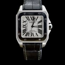 Cartier W20106X8 Steel Santos 100 35.6mm pre-owned United States of America, Missouri, Columbia