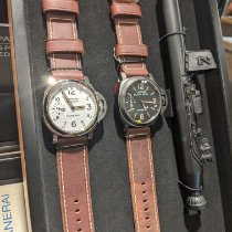 Panerai Special Editions Steel 44mm White Arabic numerals United States of America, Indiana, INDIANAPOLIS