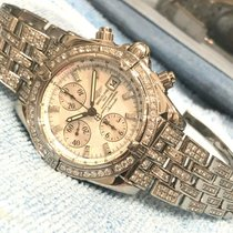 Breitling Chronomat Evolution Acero Madreperla