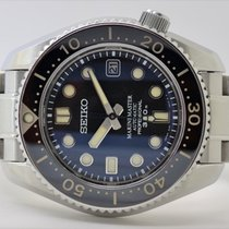 Seiko Marinemaster pre-owned 43mm Black Steel