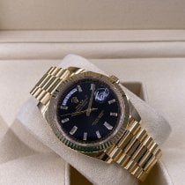 Rolex Day-Date 40 Yellow gold 40mm Black United States of America, Illinois, Springfield