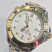 Omega Seamaster Diver 300 M Steel 39.3mm White No numerals United States of America, Florida, Vero Beach