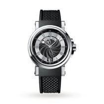 Breguet Marine Steel 39mm Black Roman numerals United States of America, Iowa, Des Moines