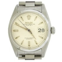 Rolex Oyster Perpetual Date Steel White United States of America, New York, New York
