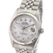 Rolex Datejust Steel 36mm White No numerals United States of America, California, Sherman Oaks
