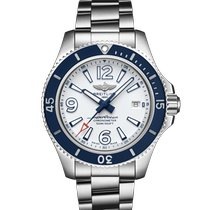 Breitling Superocean 42 Steel 42mm White Arabic numerals United States of America, Pennsylvania, Philadelphia