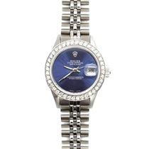 Rolex Lady-Datejust Steel 26mm Blue No numerals United States of America, California, Sylmar
