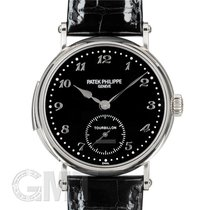 Patek Philippe Minute Repeater Or blanc 37mm Noir