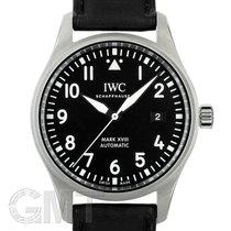 IWC Pilot Mark occasion 40mm Noir Cuir