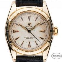 Rolex Bubble Back Oro amarillo 32mm Plata