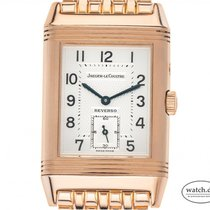 Jaeger-LeCoultre Reverso (submodel) Rose gold 42mm Silver Arabic numerals