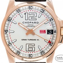 Chopard Mille Miglia Or rose 44mm Argent Arabes