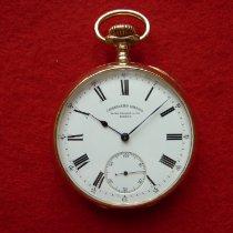 Patek Philippe Uhr gebraucht 1905 Gelbgold 56mm Handaufzug Nur Uhr