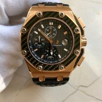 Audemars Piguet 26030RO.OO.D001IN.01 Or rose Royal Oak Offshore Chronograph 45mm occasion