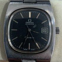 Omega Genève Steel 36mm Black Singapore