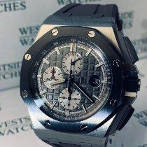 Audemars Piguet Royal Oak Offshore Chronograph Titan 44mm Grau Keine Ziffern Deutschland, Karlsruhe