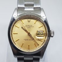 Rolex Oyster Perpetual Date Steel 34mm Gold No numerals India, MUMBAI