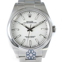Rolex Oyster Perpetual 39 Steel 39mm White No numerals United Kingdom, Kingston Upon Hull