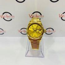 Rolex Lady-Datejust Oro amarillo 26mm Champán Sin cifras España, Valencia
