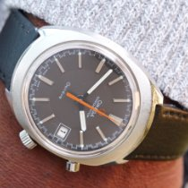 Omega Genève Steel 35mm Grey No numerals United Kingdom, Macclesfield