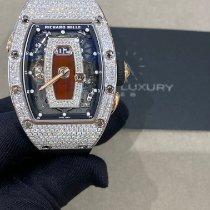 Richard Mille RM 037 Белое золото 52.63mm Прозрачный Без цифр