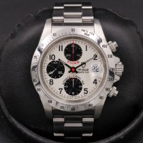 Tudor Tiger Prince Date Steel 40mm White Arabic numerals United States of America, California, Huntington Beach
