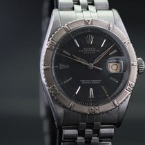 Rolex Datejust Turn-O-Graph Staal 36mm Zilver Geen cijfers Nederland, ROTTERDAM