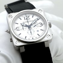 Bell & Ross BR 01-94 Chronographe BR 01-94 Very good Steel 46mm Automatic United Kingdom, Oxford