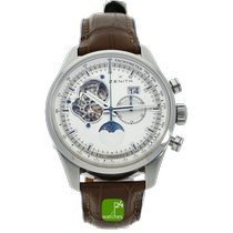 Zenith Steel 45mm Automatic 03.2160.4047 pre-owned