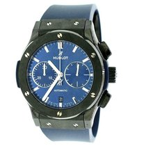 Hublot Classic Fusion Chronograph Ceramic 45mm Blue United States of America, New York, New York