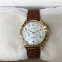 Eberhard & Co. Or jaune 38mm Remontage manuel 30056 occasion