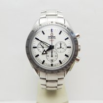 Omega Speedmaster Broad Arrow Acero 42mm Plata Sin cifras