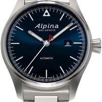 Alpina Startimer Pilot Automatic Acero 44mm Azul