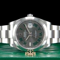 Rolex Datejust Stahl 41mm Grau Römisch Deutschland, Essen