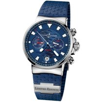 Ulysse Nardin Steel 41mm Automatic 353-68LE-3 pre-owned