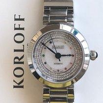 Korloff nuevo Automático Acero Cristal de zafiro