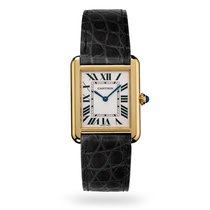Cartier Tank Solo Yellow gold 31mm Silver Roman numerals United States of America, Iowa, Des Moines
