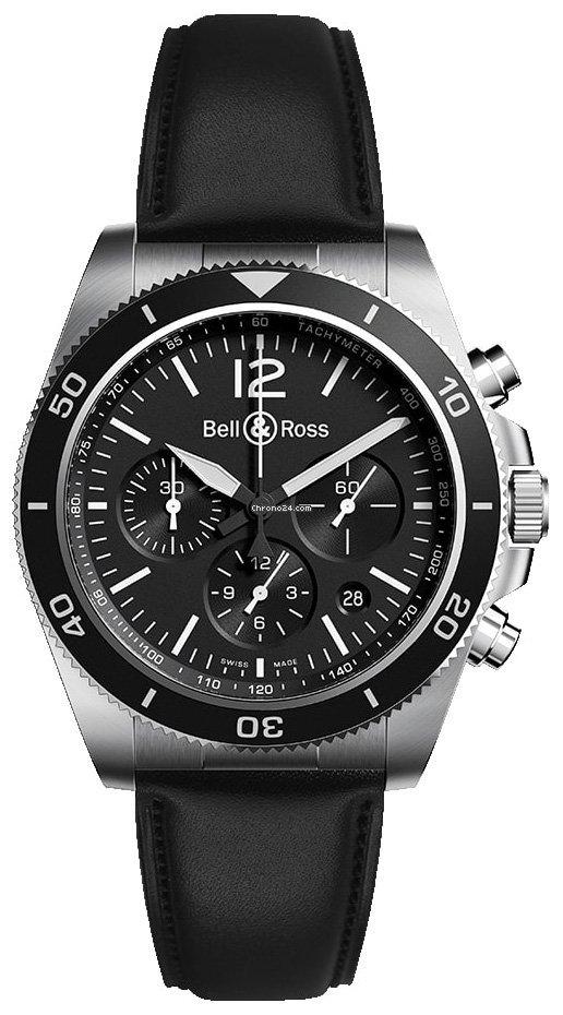 Bell & Ross BR V3 BRV394-BL-ST/SCA 2021 новые