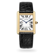 Cartier Tank Solo Yellow gold 34.8mm Silver Roman numerals United States of America, Iowa, Des Moines