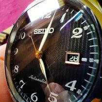 精工 Presage 鋼 40.5mm 黑色 阿拉伯數字