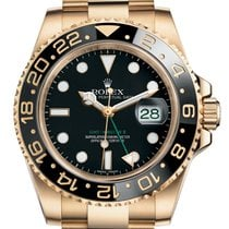 Rolex 116718LN Yellow gold 2012 GMT-Master II 40mm pre-owned United States of America, Florida, Aventura