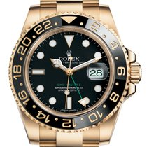 Rolex GMT-Master II Yellow gold 40mm Black No numerals United States of America, Florida, Aventura