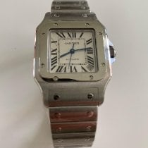 Cartier Santos Galbée Steel 32mm White Roman numerals United States of America, Florida, Miami