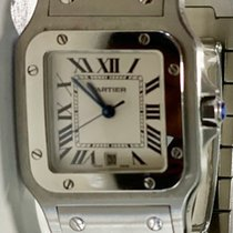 Cartier Santos Galbée Steel 24mm Silver Roman numerals United States of America, Florida, Miami