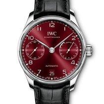 IWC Portuguese Automatic Acero Burdeos