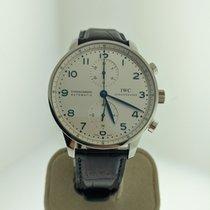 IWC Portuguese Chronograph nuevo 2019 Automático Cronógrafo Reloj con estuche y documentos originales IW371446