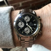 Omega Speedmaster Date Steel 39mm Black No numerals United States of America, Massachusetts, Haverhill
