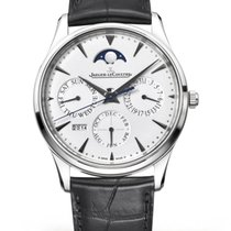Jaeger-LeCoultre Master Ultra Thin Perpetual White gold 39mm Silver United States of America, Florida, Sunny Isles Beach